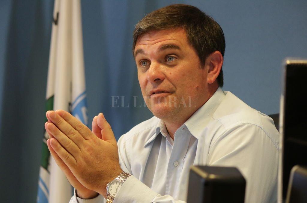 Javier Meyer, intendente de Las Rosas (departamento Belgrano).  <strong>Foto:</strong> Archivo El Litoral