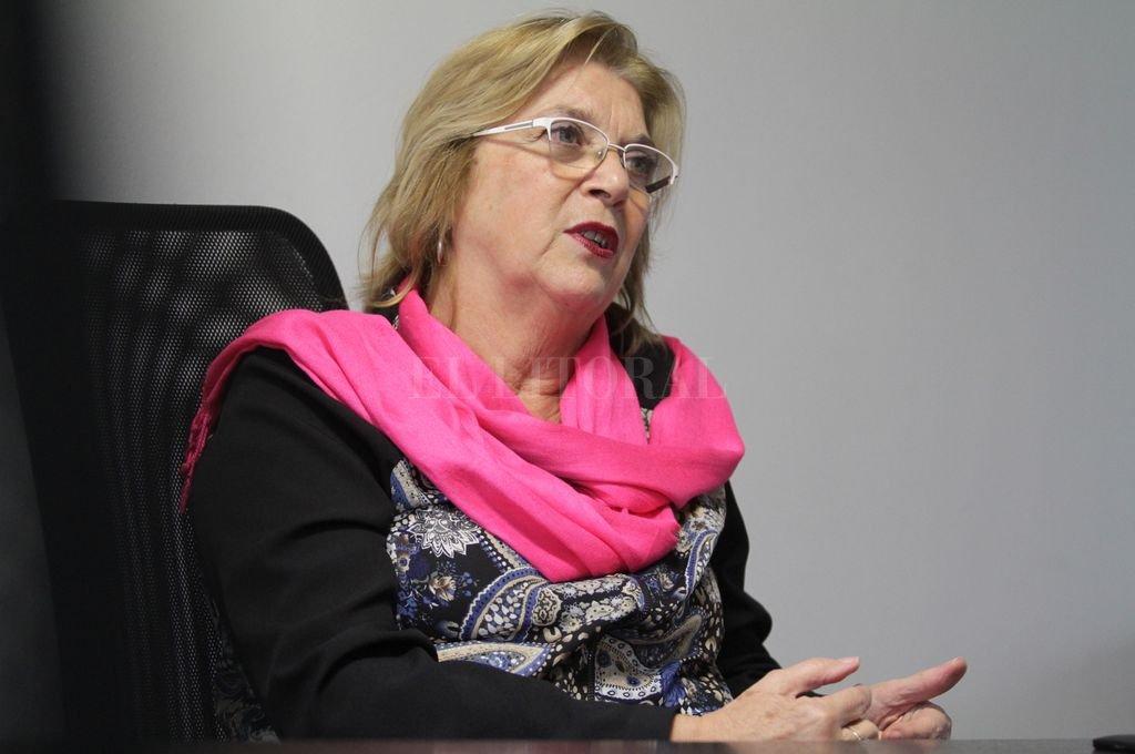 Lilia Puig de Stubrin.  <strong>Foto:</strong> Pablo Aguirre