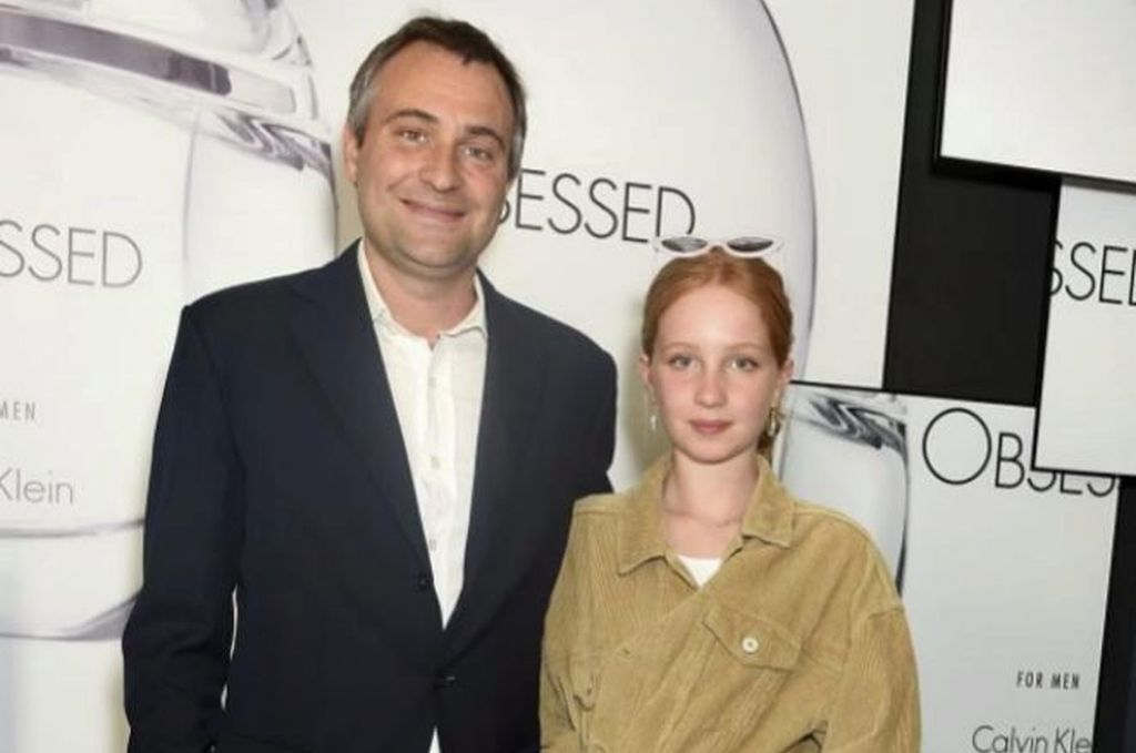 Ben Goldsmith y su hija, Iris Annabel, fallecida en un accidente. <strong>Foto:</strong> Getty