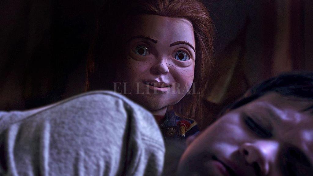 Andy recibe el muñeco que todos los chicos del barrio desean, pero no sabe lo que se esconde detrás. <strong>Foto:</strong> Gentileza United Artists
