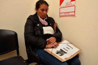 La mamá de Diego Román   fue recibida por fiscales