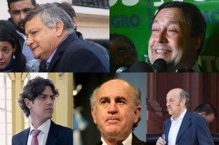 Dos gobernadores entre los candidatos a renovar un tercio del Senado nacional