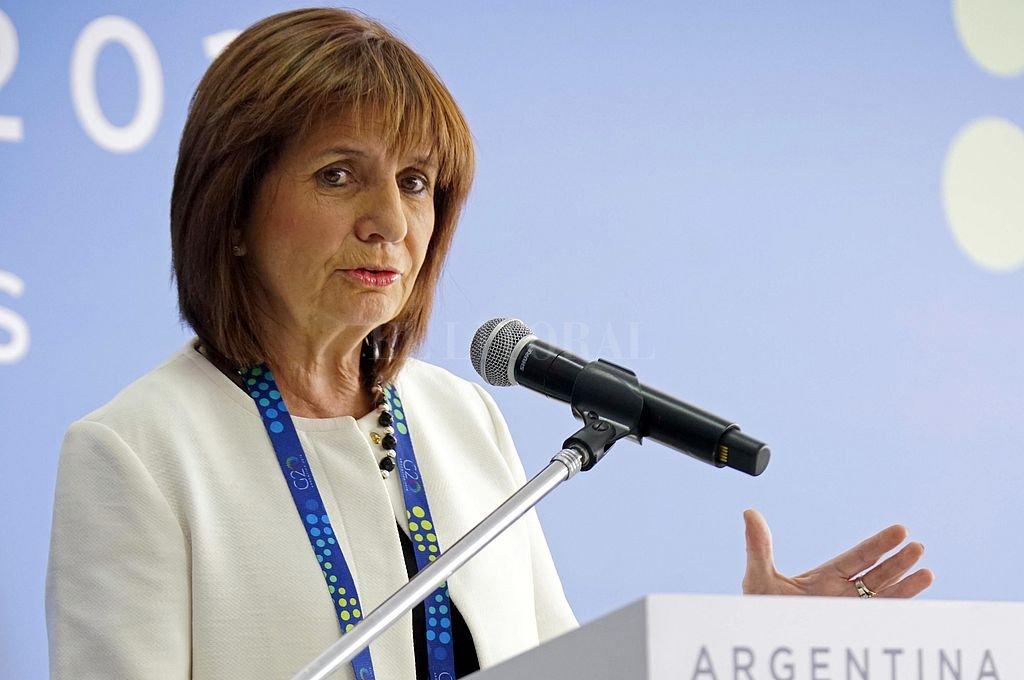 Patricia Bullrich. Crédito: Archivo El Litoral