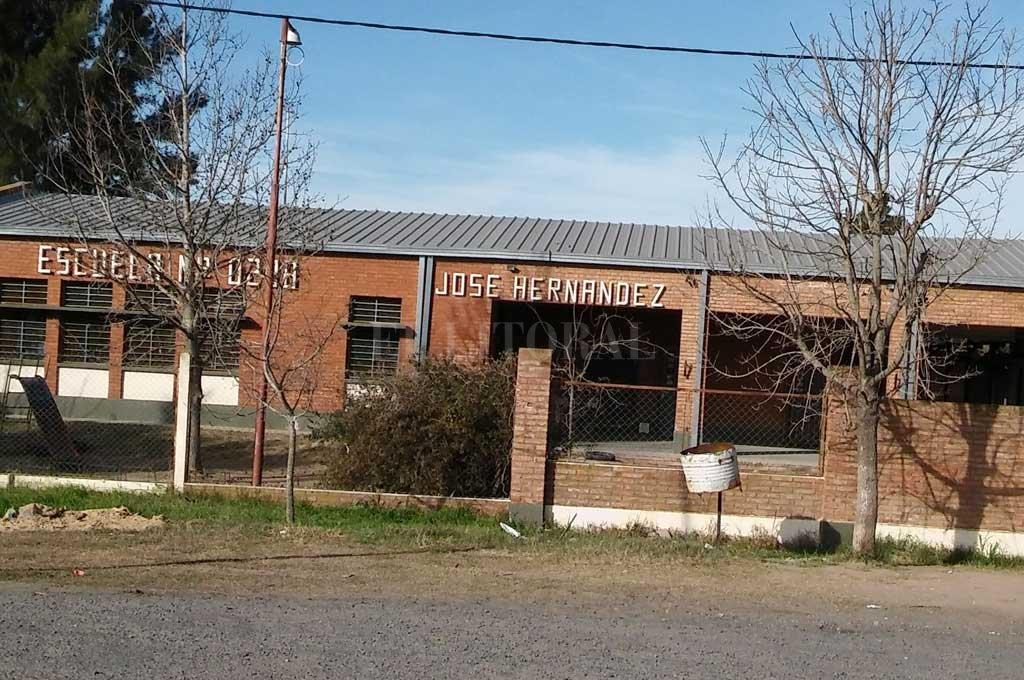 EL ACTO se desarrollará en las instalaciones de la escuela sobre la Ruta N° 11. <strong>Foto:</strong> Alfredo Miguel Ceballos