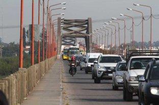 Puente Carretero: de 6 a 9.30, horario crítico  de la circulación vehicular