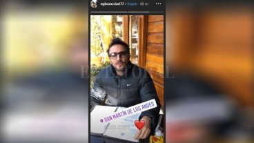 Emiliano Brancciari ironizó sobre su detención en Neuquén -