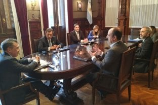 José Corral se reunió con la Cámara Nacional Electoral