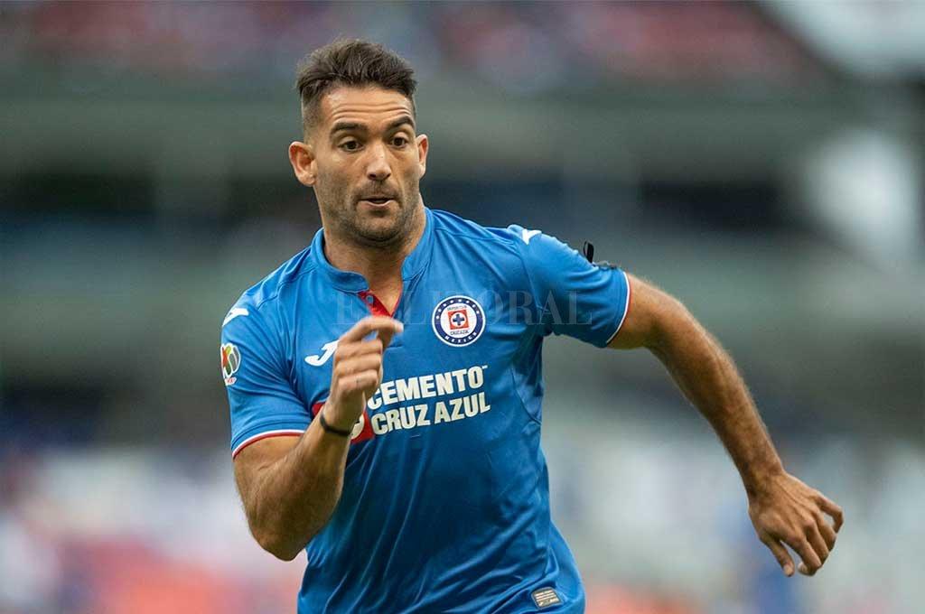 Cauteruccio, delantero que tuvo su paso por San Lorenzo y su último equipo es el Cruz Azul de México Crédito: Gentileza