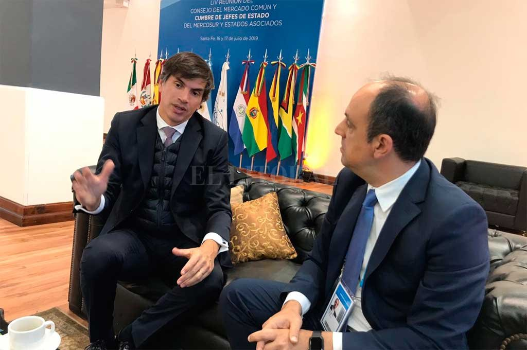 El secretario de Relaciones Económicas Internacionales de la Cancillería, Horacio Reyser, anticipó alguno de los temas principales de esta Cumbre Crédito: Twitter @HoracioReyser