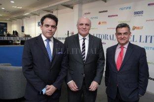"""""""La Argentina necesita un cambio copernicano"""" - Mansilla de Souza, Espert y Rosales, los candidatos de Despertar en El Litoral -"""