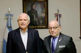 Lifschitz recibió al ministro de Relaciones Exteriores de la Nación