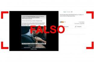 Es falsa la publicación que afirma que Victoria Donda está consumiendo cocaína en el Congreso -