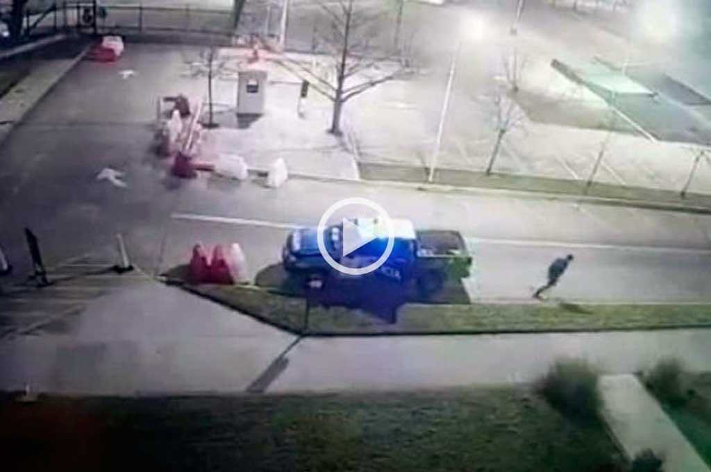 Videos: el insólito escape de un ladrón que quedó sin custodia