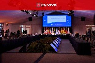 En vivo: se realiza el plenario de Cancilleres en la Estación Belgrano