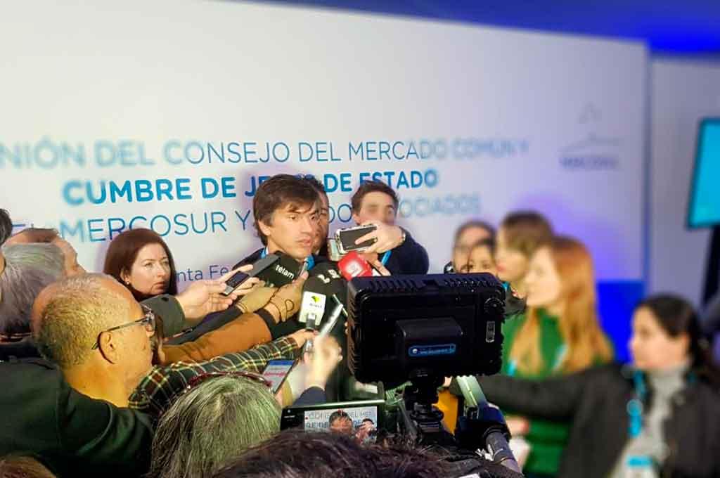"""Reyser: El Mercosur debe ser una """"plataforma desideologizada"""""""