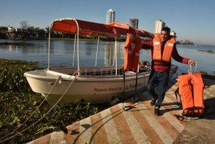 """Cientos de turistas eligen el río para disfrutar de Santa Fe - """"El paisaje que tenemos es un patrimonio que hay que valorar mucho"""", destacó Ricardo Rodríguez, conductor náutico de La Ribereña. -"""