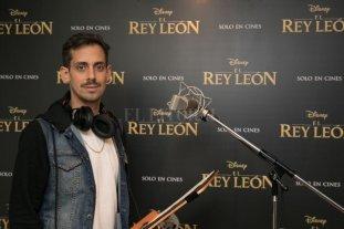 Un argentino en El Rey León
