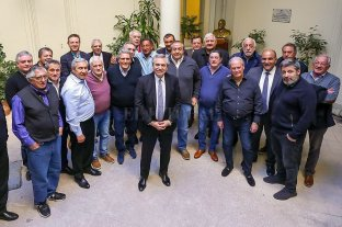 """La CGT dio un """"amplio respaldo"""" a la candidatura de Alberto Fernández -  -"""