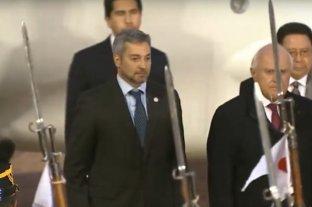 Llegó Mario Abdo Benítez a Santa Fe -  -
