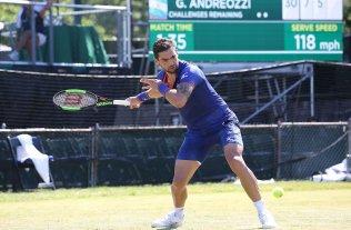 El argentino Andreozzi enfrenta a Zverev