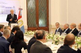 Cumbre del Mercosur: Lifschitz brindó una recepción en honor a los ministros de los estados partes