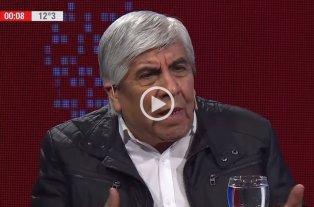 """Moyano calificó de """"mitómano"""" a Macri y dijo que """"no tiene ninguna posibilidad de ganar"""" -  -"""