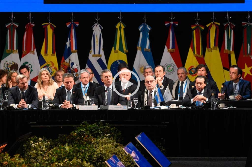 En vivo: comenzó la sesión plenaria en la Cumbre del Mercosur -  -