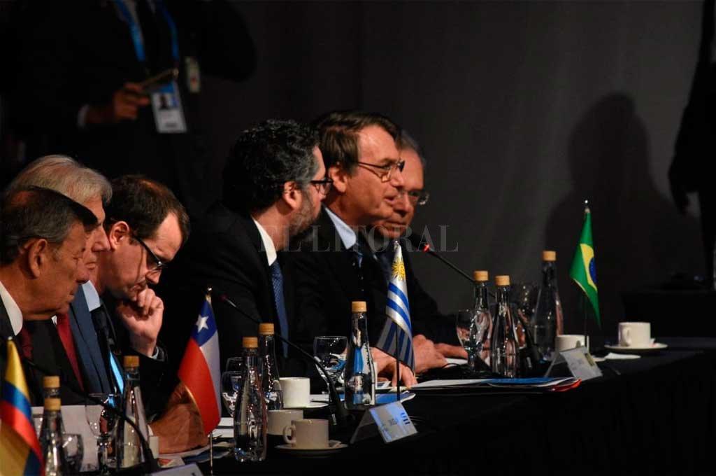 """Bolsonaro en la Cumbre: """"Queremos un Mercosur con menos ideología y más resultados"""""""
