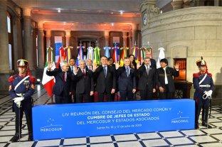 Cumbre del Mercosur: la foto oficial de los presidentes