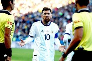 AFA realizará una segunda presentación para evitar una sanción a Messi -  -