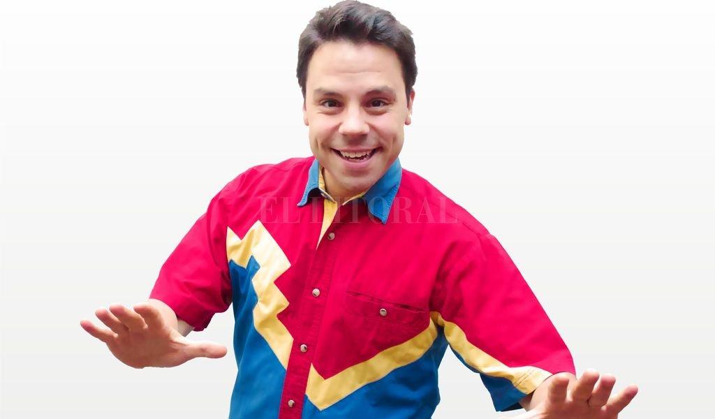 """El reconocido actor y conductor Juanchi Macedonio, ídolo de """"Playground"""", """"High School Musical"""", """"Popstars"""" y más, presentará su nuevo show infantil. <strong>Foto:</strong> Gentileza producción"""