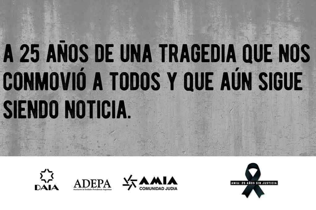Los medios argentinos recuerdan a las víctimas del atentado de 1994