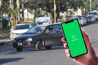 En Santa Fe también se puede pedir un taxi por WhatsApp -