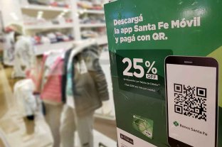 """Banco Santa Fe presentó """"Código QR"""", su billetera virtual para pagar desde el celular -  -"""