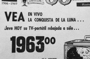 La llegada del hombre a la Luna dominaba los medios y las publicidades en 1969