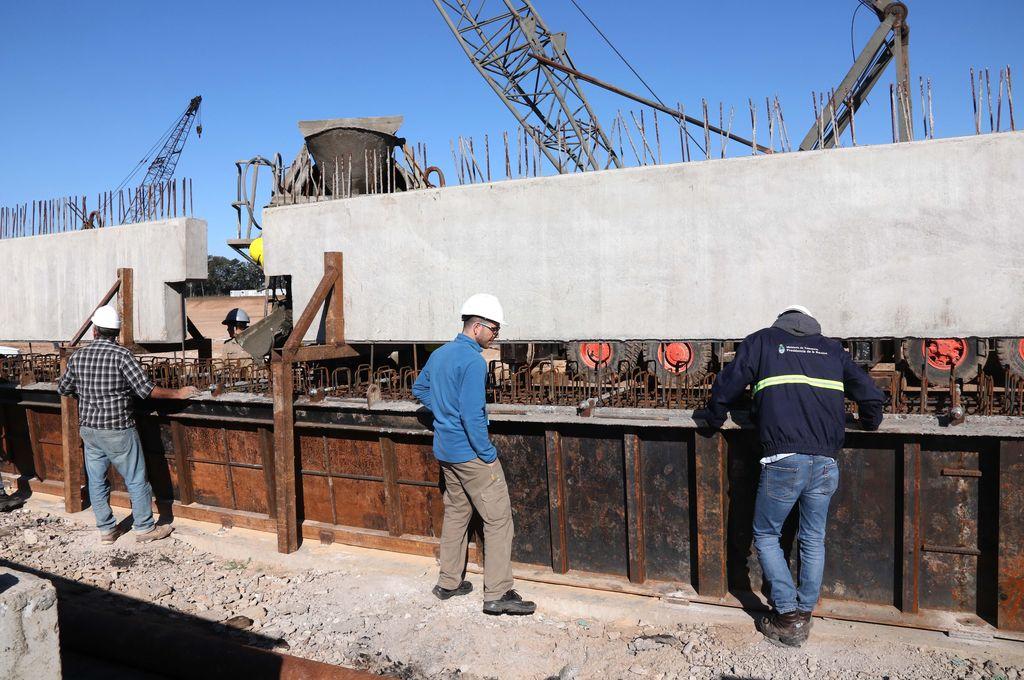 Avanzan las obras para conectar el Belgrano Cargas con los puertos
