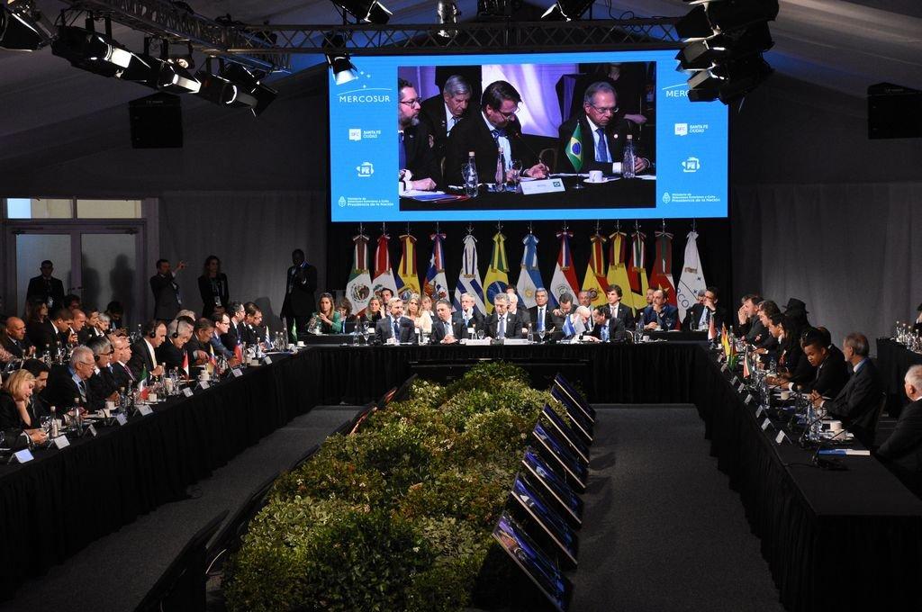 La Cumbre del Mercosur en Santa Fe reflejada en los medios de la región
