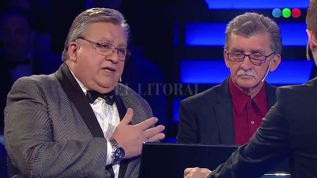 Marcos Camino en el programa de Telefé. <strong>Foto:</strong> Gentileza Telefé