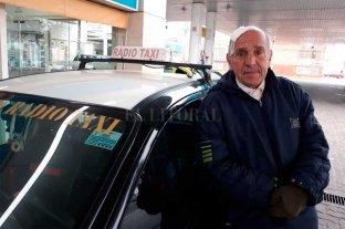 """""""Mientras la droga siga circulando los robos van a continuar"""", opinó el taxista golpeado y asaltado - Además de manejar un taxi, Juan Carlos, que tiene 76 años, corre maratones. """"Son mis dos pasiones. Y no las voy a dejar"""", dijo. -"""