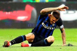 El entrenador de Inter no cuenta con Icardi