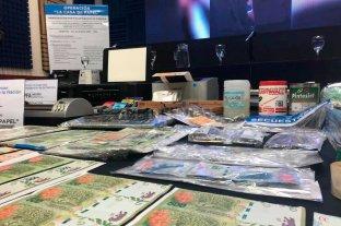 """Operativo """"La casa de papel"""": desbarataron una banda que falsificaba dinero -  -"""