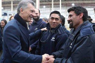 """""""Este es el país que está en marcha"""", dijo Macri"""