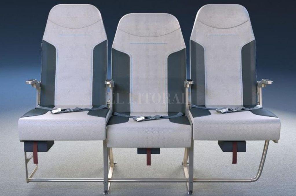 """Aviones: los asientos """"del medio"""" serán menos incómodos"""