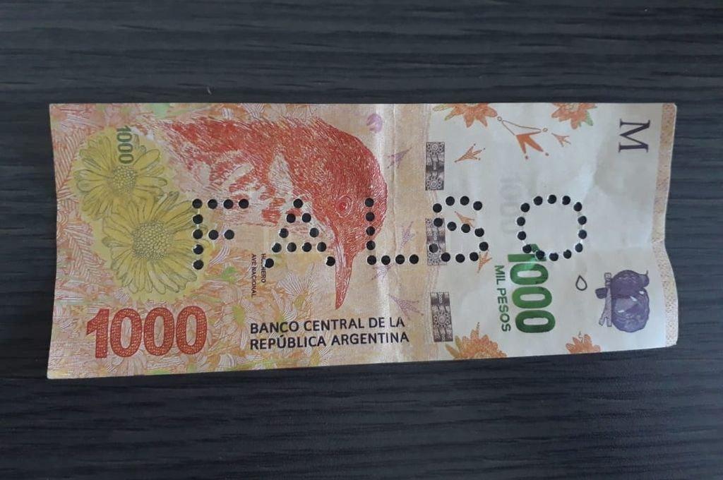 Alerta por la presencia de billetes falsos en comercios de Santa Fe - EL LITORAL