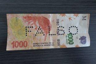 Alerta por la presencia de billetes falsos en comercios de Santa Fe -