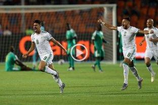Argelia venció a Senegal y se coronó campeón de la Copa África de fútbol -  -
