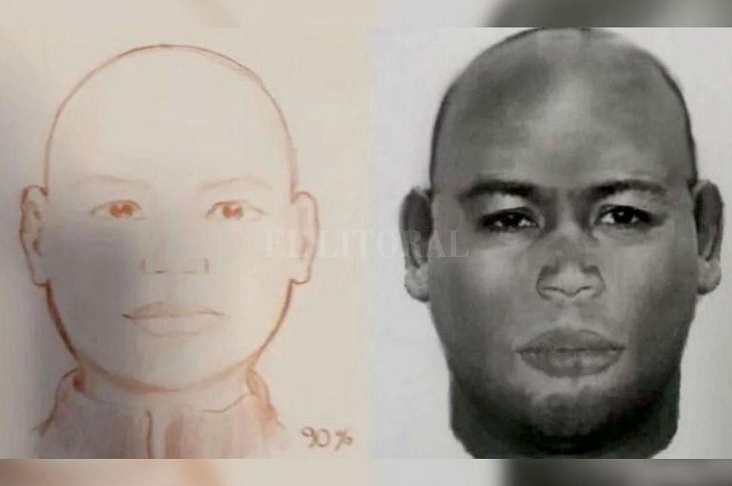 Identikit del hombre que robó y abusó de varias mujeres en Rosario. <strong>Foto:</strong> Captura digital