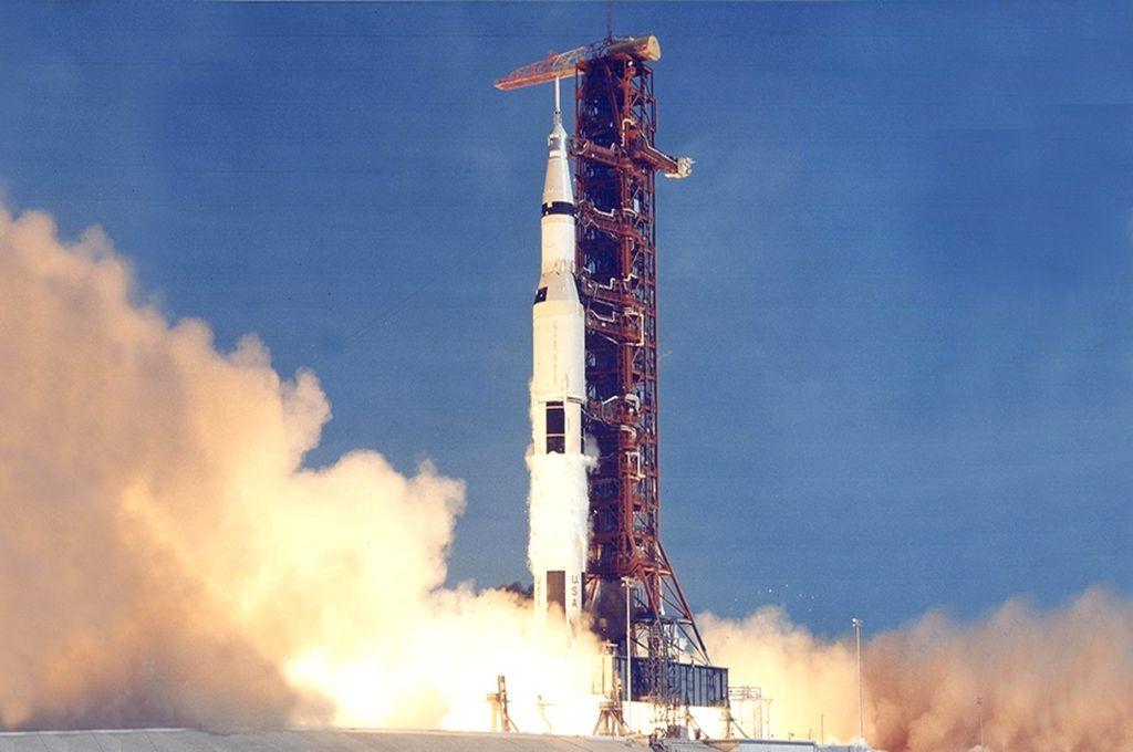 """""""El encendido del cohete volaba la tierra"""", dijo el argentino que presenció el despegue de Apolo XI"""
