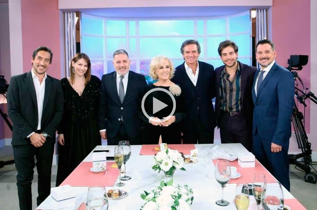 Mirtha Legrand no lo quiere a Alberto Fernández en su mesa