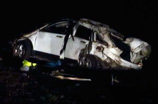 """""""El Pepo"""" dijo que la camioneta la manejaba uno de los fallecidos, pero la Justicia afirma que era él - Así quedó el vehículo donde viajaba el cantante de música tropical -"""